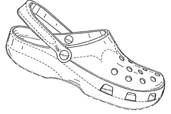 Nieuw ontwerp? Registreer het model dan tijdig. Crocs was te laat.