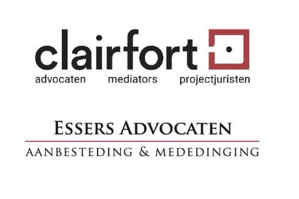Clairfort en Essers advocaten fuseren. Clairfort versterkt op de gebieden mededingingsrecht, regulatoir & aanbestedingsrecht