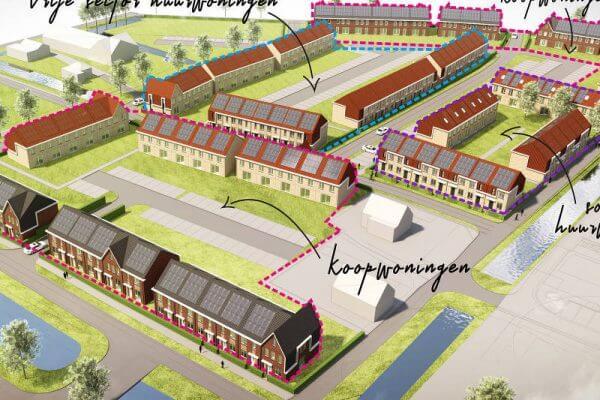 Clairfort begeleidt succesvolle contractering voor het duurzaamheidsproject Rijswijk Buiten fase 13.
