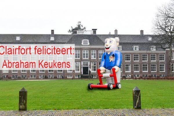 Clairfort feliciteert Krijn – de Abraham – Keukens