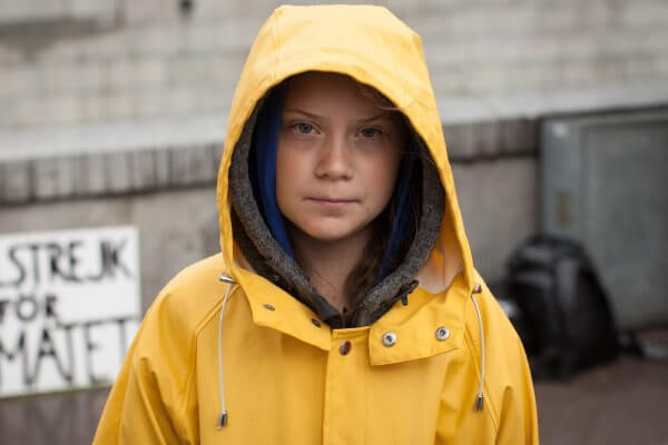 Vloerenbedrijf gebruikt naam klimaatmeisje Greta Thunberg, mag dat?