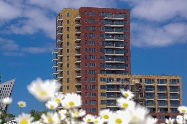 Clairfort feliciteert Rijswijk Wonen met de oplevering van de nieuwbouw in het project Haags Buiten.