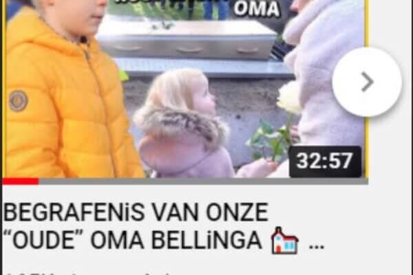 Commentaar in De Stentor over de vlogger die een begrafenisvideo van oma maakte: portretrecht