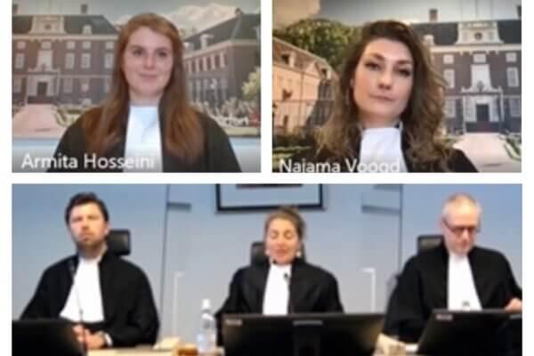 Armita Hosseini en Najama Voogd beëdigd tot advocaat