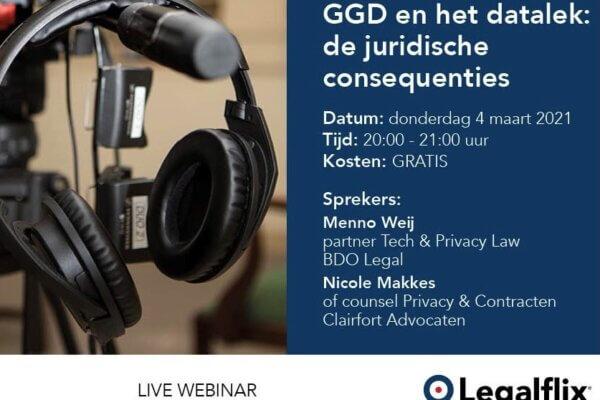 Nicole Makkes op 4 maart 2021 te zien in Live webinar over het datalek bij de GGD. Meld je gratis aan!