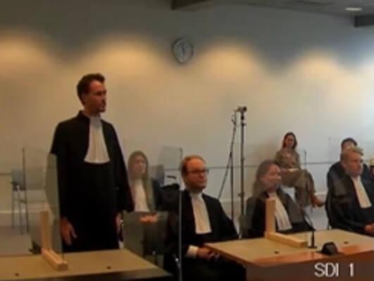 Joris Falhaber beëdigd tot advocaat